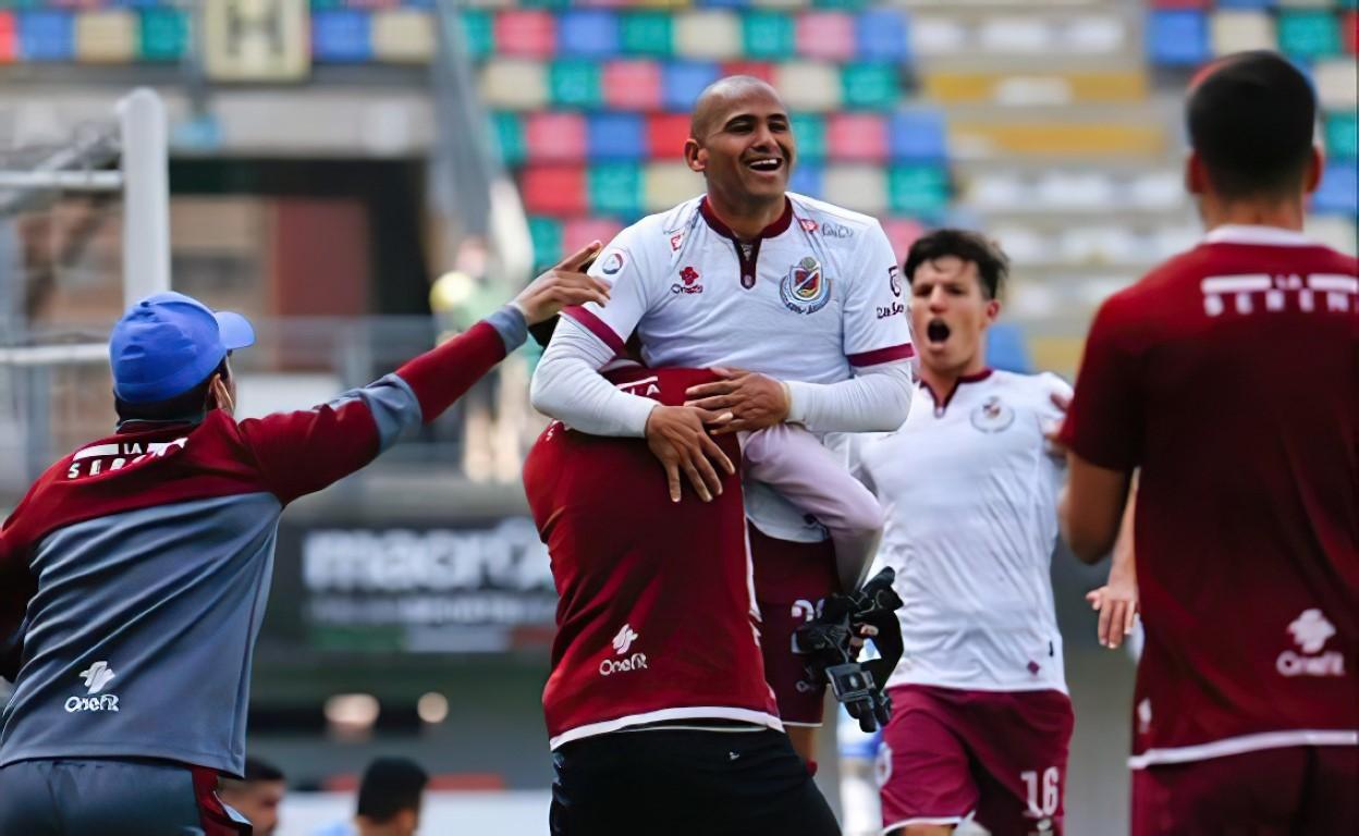 Club Deportes La Serena cae ante Audax Italiano en Santiago