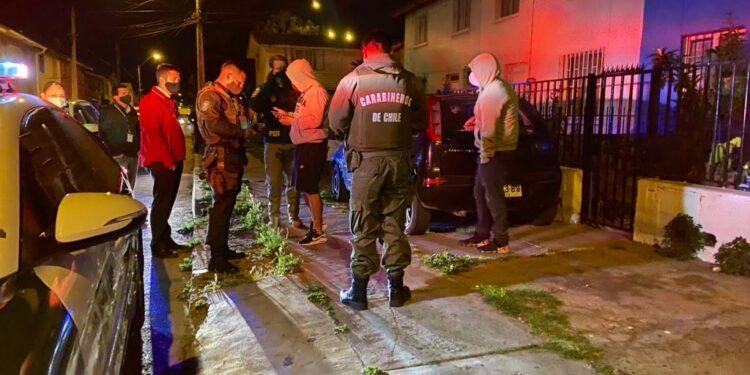 Con 6 detenidos por infringir la cuarentena culminó fiscalización nocturna en Coquimbo