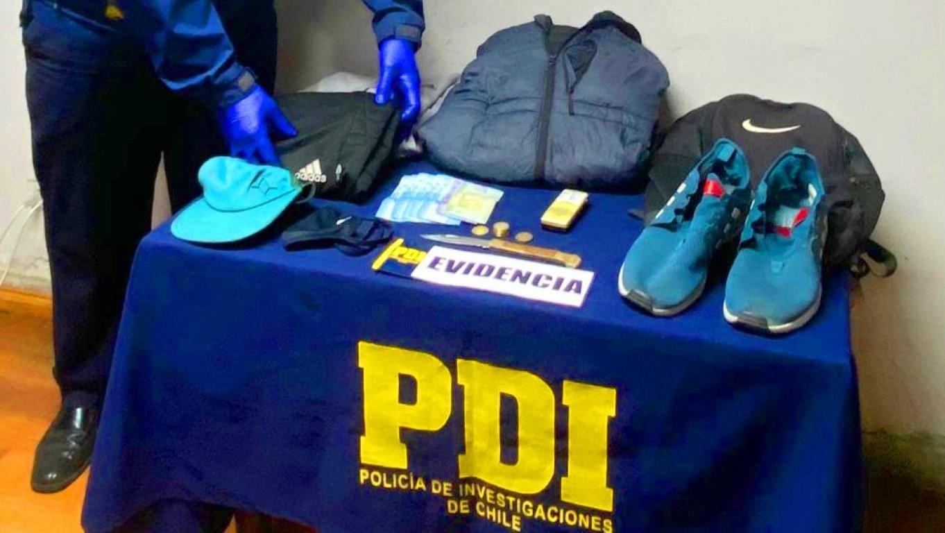 PDI detiene a sujeto que se hacía pasar por policía para cometer robos con intimidación y violencia